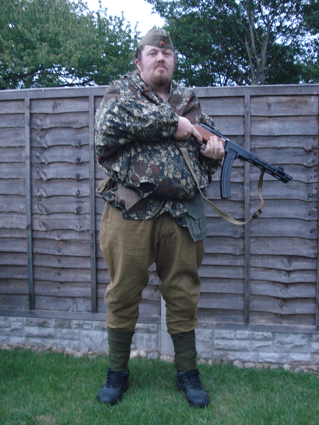 Ww2 Uniform For The Larger Gent Ww2 Airsoft Uk