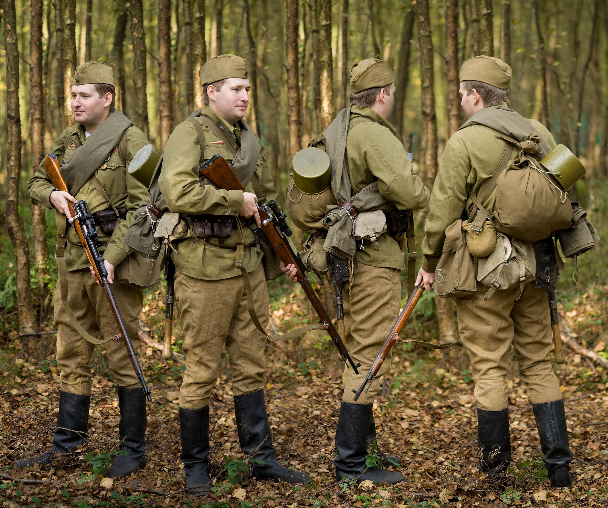 USSR RKKA Summer uniforn