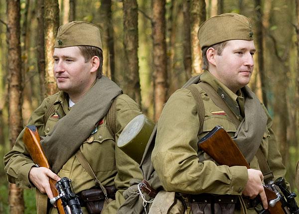 Russian RKKA summer uniform