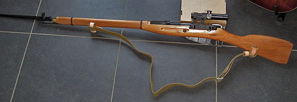 Mosin Nagant with sniper bolt